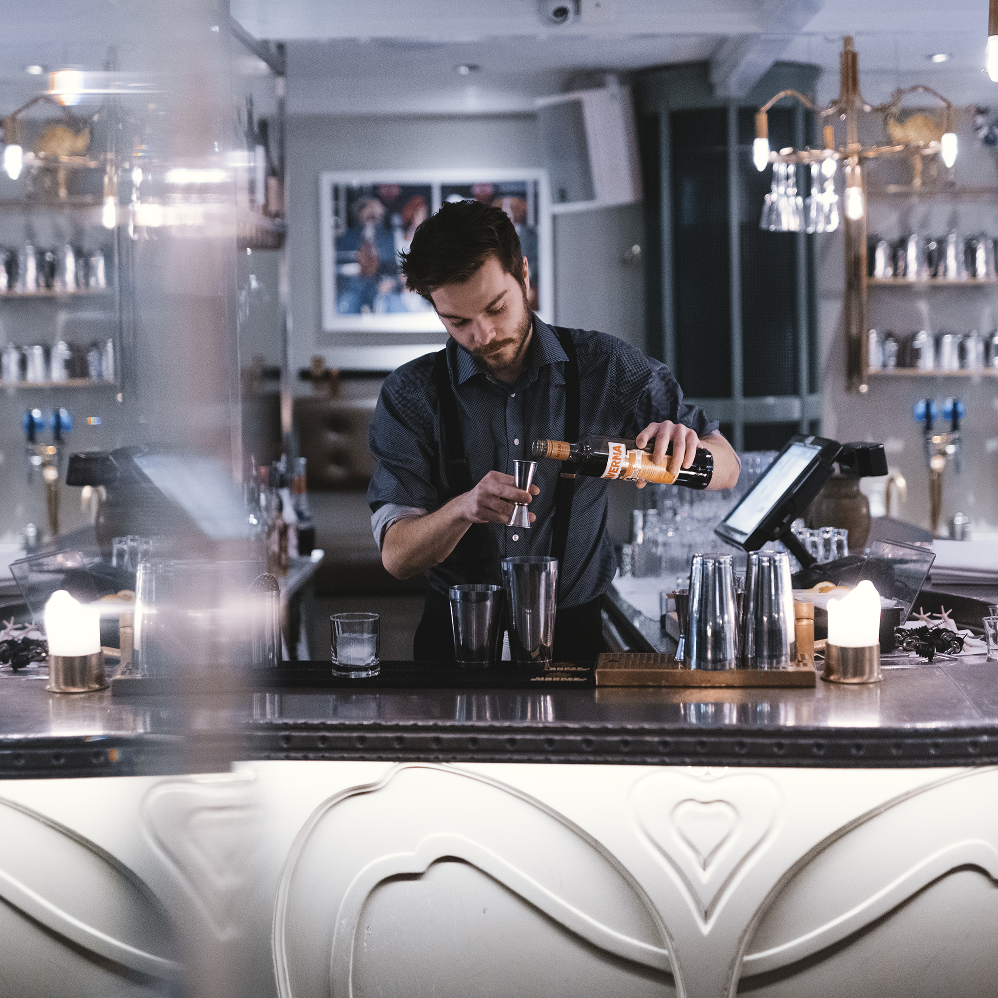 hyra bartender